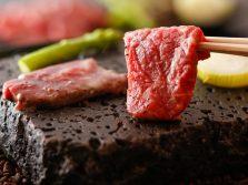 信州牛の石焼き